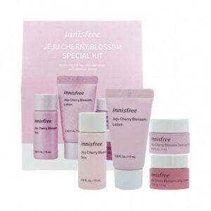 Innisfree Jeju Cherry Blossom Special Kit Набор миниатюр для яркости кожи