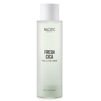Nacific Fresh Cica Plus Clear Toner Двухфазный матирующий тонер, 150 мл