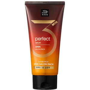 MiseEnScene Perfect Serum 3MIN Salon Pack Восстанавливающая маска для волос, 300 мл