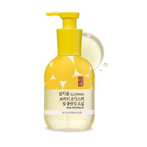 Illiyoon Fresh Moisure Deep Cleansing Oil Освежающее гидрофильное масло, 200 мл