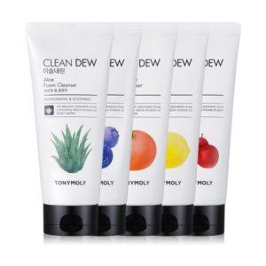 Tony Moly Clean Dew Foam Cleanser Пенка для умывания, 180 мл