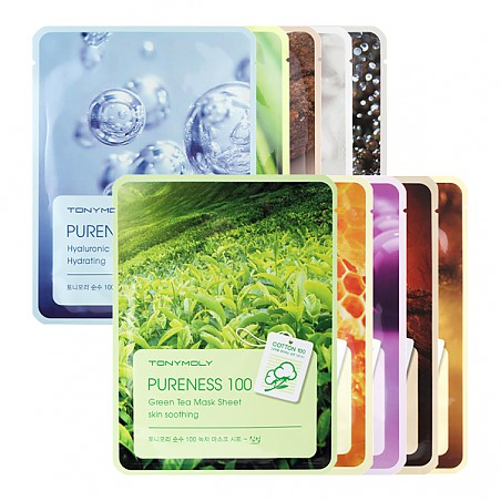 Tony Moly Pureness 100 Mask Sheet Тканевая маска