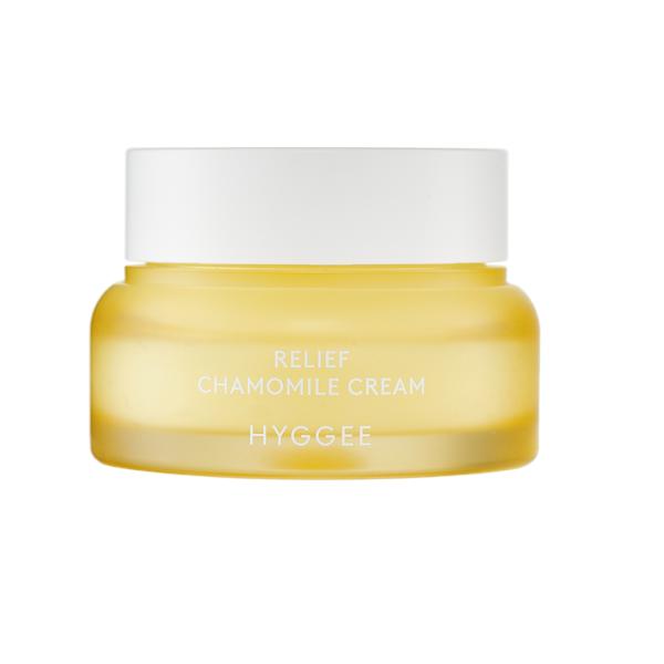 Hyggee Relief Chamomile Cream Лёгкий успокаивающий крем, 52 мл