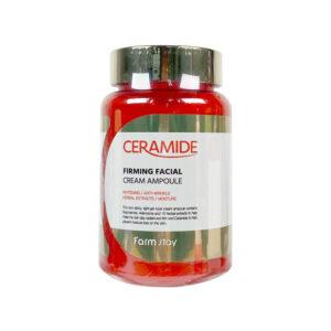 FarmStay Ceramide Firming Facial Cream Ampoule Крем-сыворотка для лица с керамидами, 250 мл