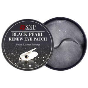 SNP Black Pearl Renew Eye Patch Патчи с жемчужной пудрой
