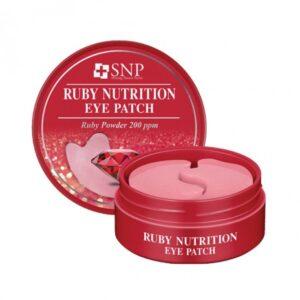 SNP Ruby Nutrition Eye Patch Патчи с рубиновой пудрой