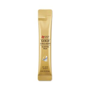 SNP Gold Collagen Sleeping Pack Ночная маска с золотом и коллагеном, 4 мл