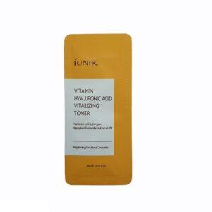Iunik Vitamin Hyaluronic Acid Vitalizing Toner Витаминный тонер с гиалуроновой кислотой, 1.5 мл