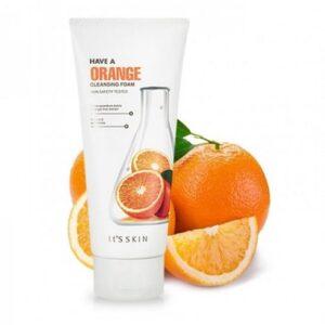 Its Skin Have a Orange Cleansing Foam
