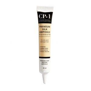 CP-1 Premium Silk Ampoule Несмываемая сыворотка для волос с протеинами шелка, 20 мл