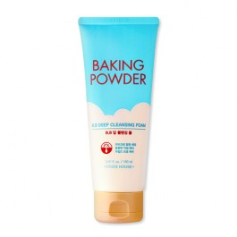 Etude House Baking Powder BB Deep Cleansing Foam Пенка для умывания, 160 мл