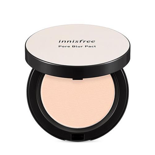 Innisfree Pore Blur Pact Компактная пудра для жирной кожи