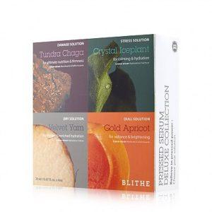 Blithe Pressed Serum Deluxe Collection Коллекция прессованных сывороток