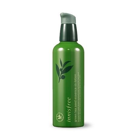Innisfree Green Tea Seed Essence-In-Lotion Интенсивное увлажняющее средство для лица 2 в 1, 100 мл