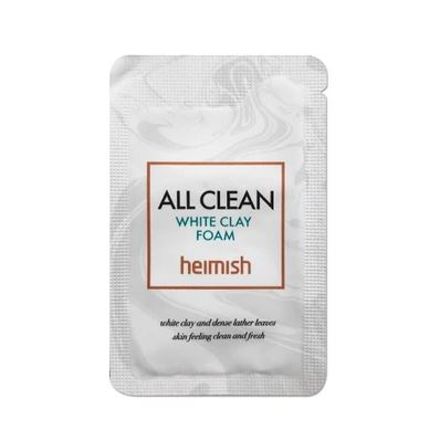 Heimish All Clean White Clay Foam Пенка для умывания