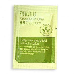 Purito Snail All In One BB Cleanser Очищающий улиточный гель