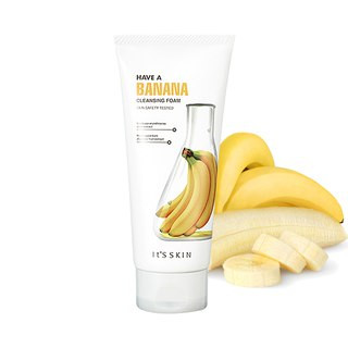 It's Skin Have A Banana Cleasing Foam Пенка с экстрактом банана, 150 мл