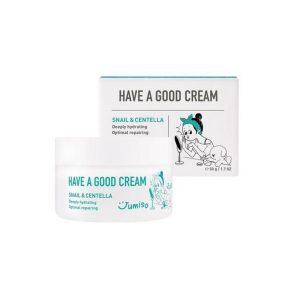 Jumiso Have A Good Cream Snail & Centella Улиточный крем с центеллой азиатской, 50 мл