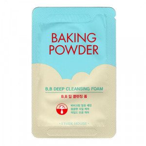 Etude House Baking Powder BB Deep Cleansing Foam Пенка для умывания, 4 мл