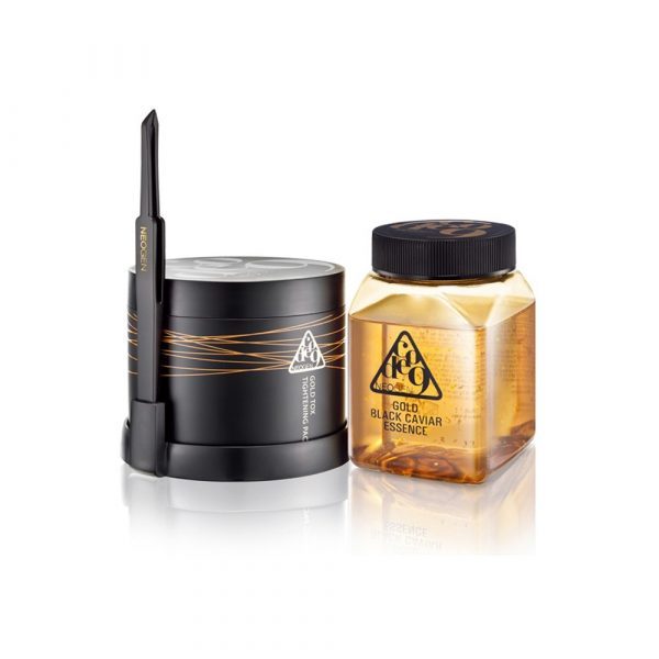 Neogen Gold Black Caviar Essence & Tox Tightening Pack Kit Омолаживающий комплекс