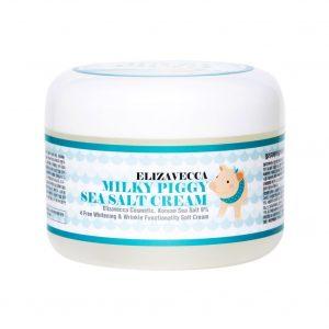 Elizavecca Milky piggy sea salt cream Омолаживающий крем с морской солью, 100 мл