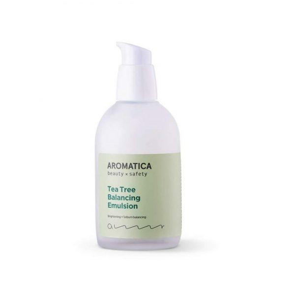 Aromatica Tea Tree Balancing Emulsion Органическая эмульсия с чайным деревом для жирной кожи, 100 мл