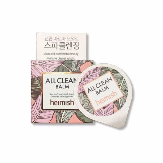 Heimish All Clean Balm Blister Гипоаллергенный бальзам для снятия макияжа, 5 мл