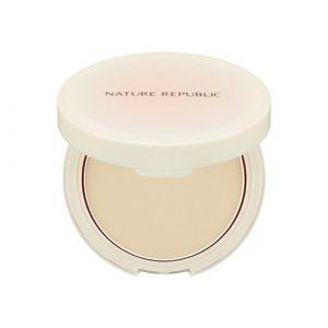 Nature Republic Pure Shine Powder Pact Компактная пудра для сияния кожи
