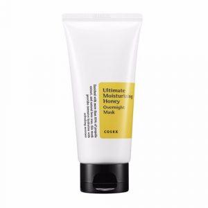 COSRX Ultimate Moisturizing Honey Overnight mask Увлажняющая ночная маска с прополисом, 60 мл