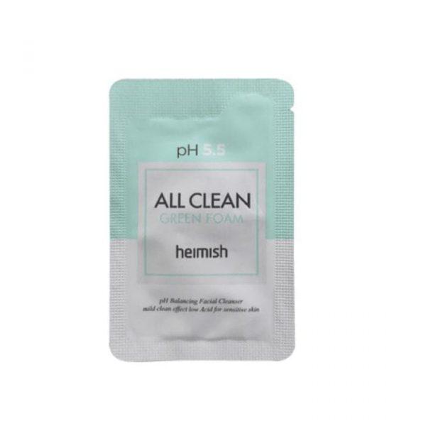 Heimish All Clean Green Foam Очищающая пенка для лица