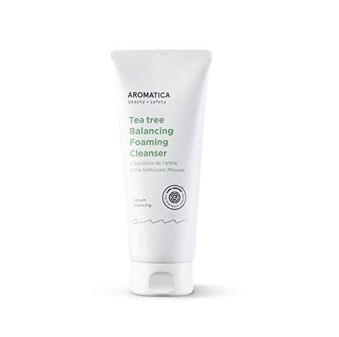 Aromatica Tea Tree Balancing Foaming Cleanser Очищавшая пенка с экстрактом чайного дерева, 180 г