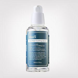 Klairs Rich Moist Soothing Serum Увлажняющая сыворотка с бета-глюканом, 80 мл