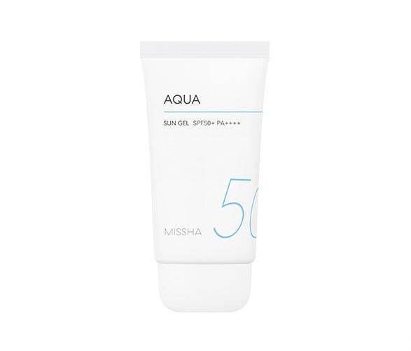 Missha All Around Safe Block Aqua Sun Gel SPF50+ Солнцезащитный аква-гель, 50 мл