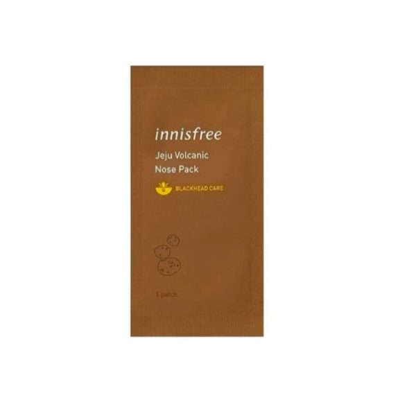 Innisfree Jeju Volcanic Nose Pack Очищающий пластырь для носа, 1 шт