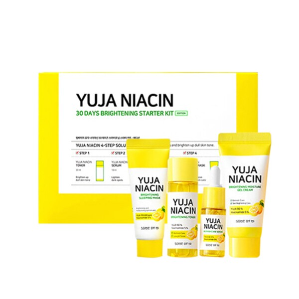 Some by Mi Yuja Niacin 30 Days Brightening Starter Kit Набор средств для осветления кожи