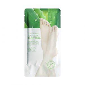 Nature Republic Real Squeeze Aloe Vera Peeling Foot Mask Пилинг для ног