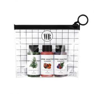 Wonder Bath Super Vegitoks Mini Kit Набор очищающих детокс-гелей
