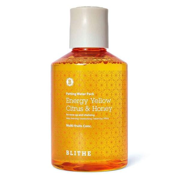 Blithe Patting Splash Mask Energy Yellow Citrus & Honey Сплэш-маска с медом и экстрактом цитрусовых, 150 мл