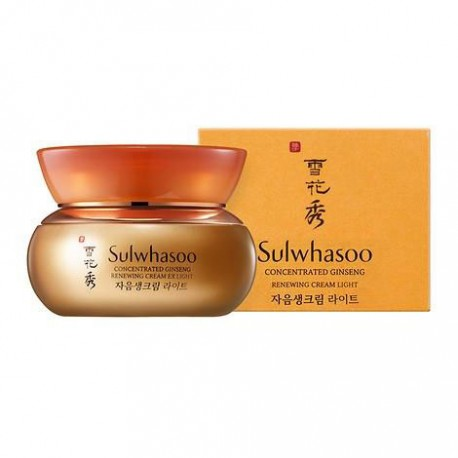 Sulwhasoo Concentrated Ginseng Renewing Cream EX Light Антивозрастной крем, 5 мл