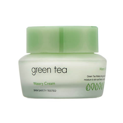 It's Skin Green Tea Watery Cream Увлажняющий крем с зеленым чаем,  50 мл
