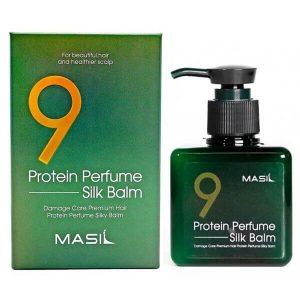 Masil 9 Protein Perfume Silk Balm Протеиновый бальзам для волос, 180 мл