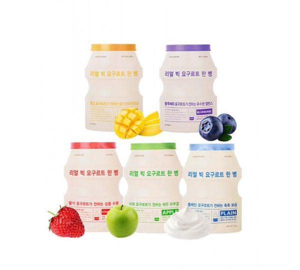 A'pieu Real Big Yogurt One Bottle Тканевая маска с йогуртом