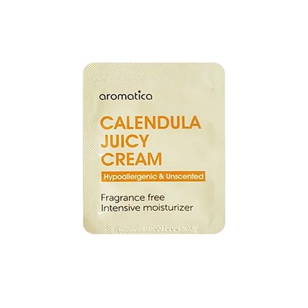 Aromatica Calendula Juicy Cream Успокаивающий крем с календулой