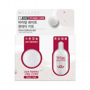 WELLAGE Real Vitamin Toning One Day Kit Осветляющая ампула