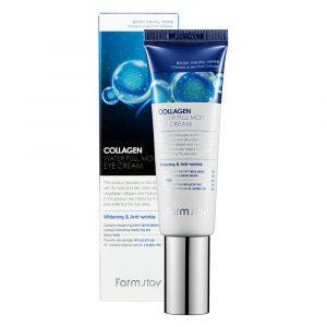 Farmstay Collagen Water Full Moist Eye Cream Увлажняющий крем для кожи вокруг глаз с коллагеном, 50 мл