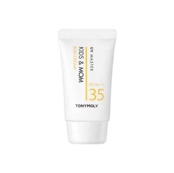 Tony Moly UV Master Kids & Mom Sun Cream SPF35 Солнцезащитный крем для детей и мам 45 мл