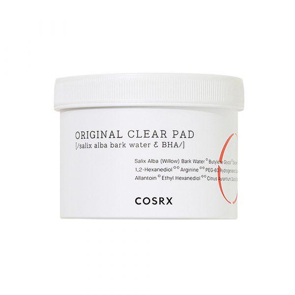 COSRX One Step Original Clear Pad Очищающие салфетки с BHA-кислотой