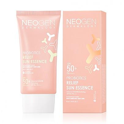 Neogen Probiotics Relief Sun Essence SPF50 Солнцезащитная эссенция с пробиотиками, 50 мл