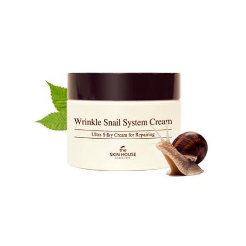 The skin house Wrinkle Snail System cream Улиточный крем