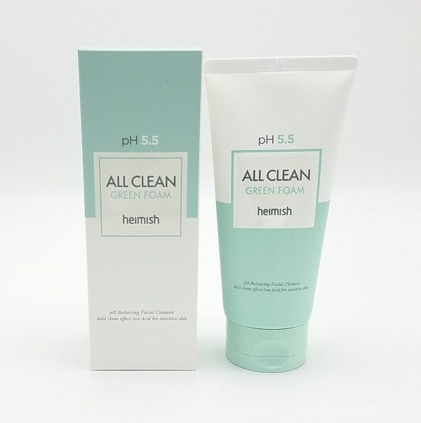Heimish All Clean Green Foam Пенка для умывания, 150 мл